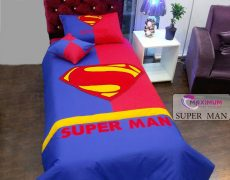 لحاف رو تختی یکنفره مدل سوپر من (super man )