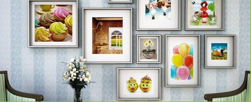 قانون شماره 9:لوازم دکوراسیون داخلی منزل قابه ها و آویزها باید به درستی جایگذاری شوند!