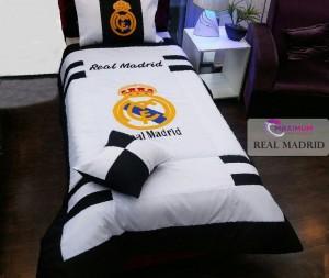 لحاف رو تختی یکنفره رئال مادرید(real madrid)